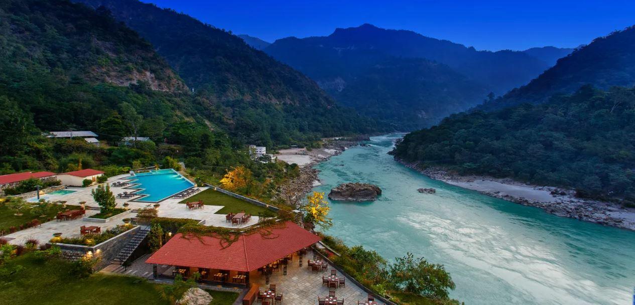 Ganges aus den Bergen