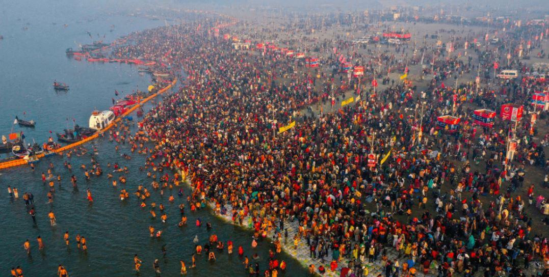 Göttliche Perspektive des Ganges