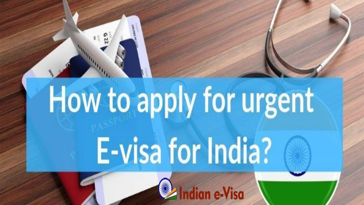Intian viisumi kiireellinen - hätä